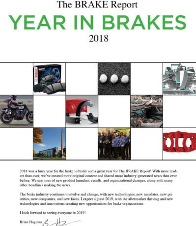 Year in Brakes