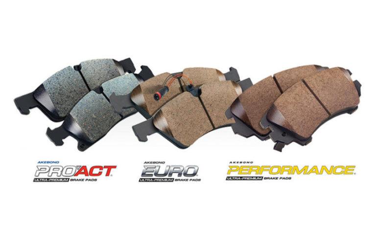 Akebono disc brake pad kits