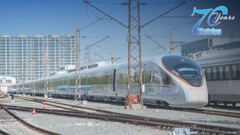 Fuxing bullet train