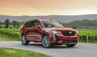 Cadillac XT6 three-row crossover
