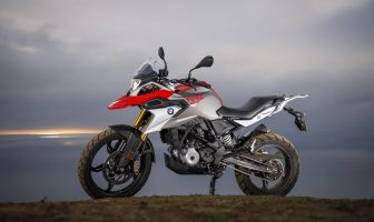BMW G310GS motorcycle
