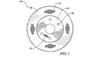 Chevy patents brake rotor with bow-ties