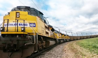 LEADER® AutoPilot™, the on-board energy management system of Knorr-Bremse's New York Air Brake subsidiary, automatically operated a freight train from start to finish
