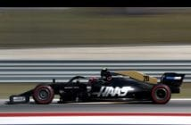 Brake failure forced Haas F! Team's Magnussen out of U.S. Grand Prix