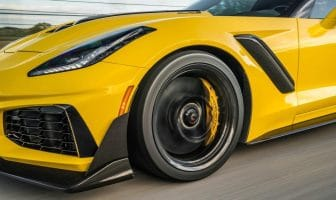 Top-rated Chevrolet Corvette ZR-1 finished atop the supercar group in stopping power