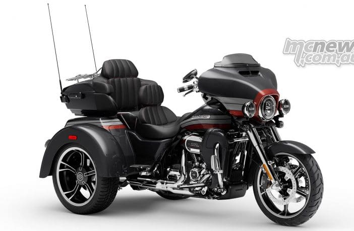 Harley-Davidson recalling Trikes in Australia due to potential braking issue