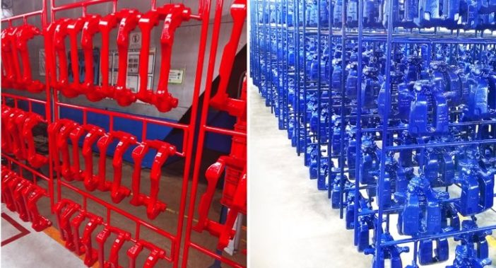 Greenkote PLC report an upsurge in powder coating caliper assemblies