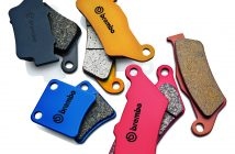 Selection of Brembo two-wheeler brake pads