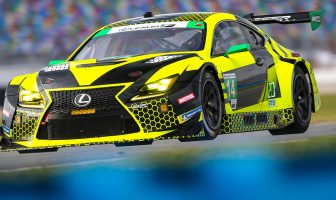 Kyle Busch raved about the brakes in the Lexus RC F racer