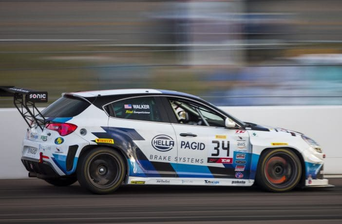 Driver James Walker took 4th place in the TCR America ranking with the Hella Pagid - Risi Competizione Alfa Romeo Giulietta TCR