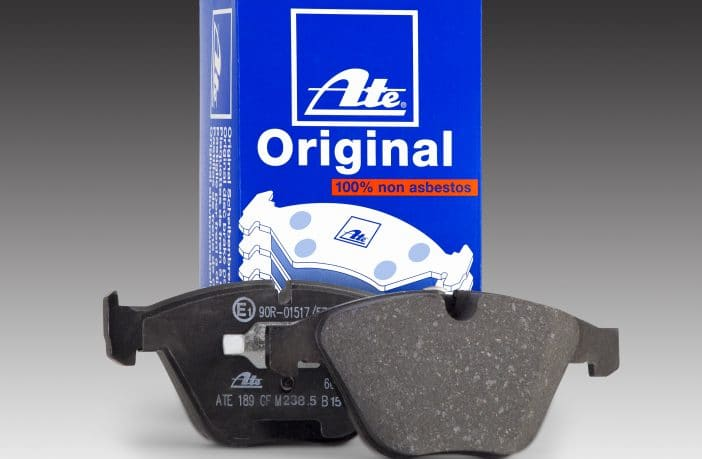 Continental ATE Original Brake Pads are built and tested to meet and exceed original equipment friction specifications.