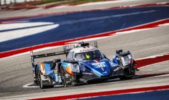 A major brake failure cost the The Signatech Alpine Elf team #36 Alpine A470-Gibson victory in the Lone Star Le Mans