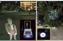Driverless car AEB systems can be tricked by a projected image of a pedestrian
