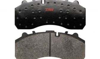 TRW aftermarket commercial-vehicle brake pads