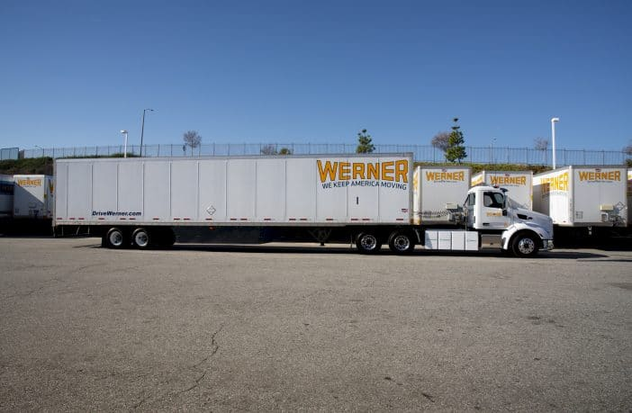 Bendix ADAS part of Werner Enterprises' first EV truck