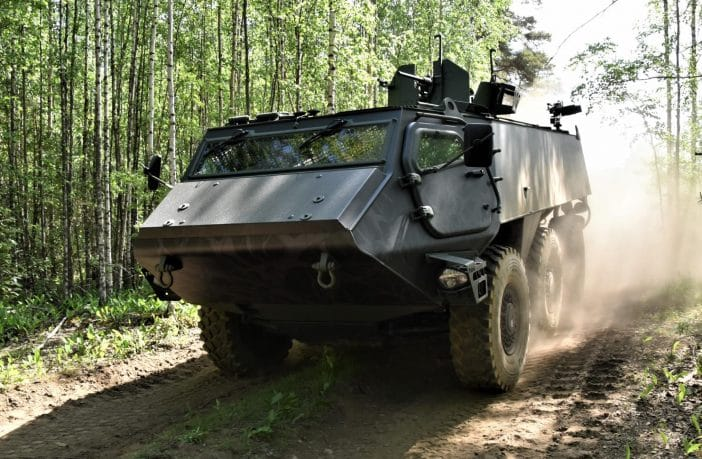 Alcon is the principal supplier of braking components for Patria's heavy armored vehicle range, and specifically the Patria 6x6