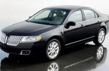 Lincoln MKZ part of soft brake pedal recall
