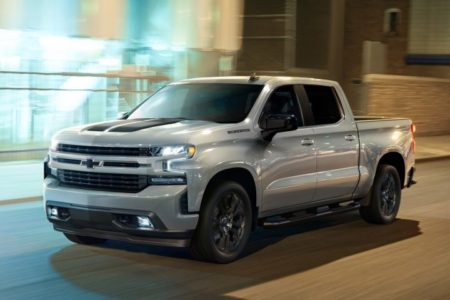 The 2021 Chevrolet Silverado will have expanded availability of AEB over the 2020 model (pictured here)
