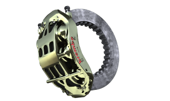Brembo Formula 1 brake systems personalized for each team