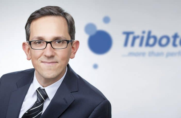 Stefam Greimel, Managing Director and CEO of Tribotecc GmbH