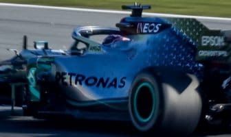 Mercedes-Benz had to modify the rear brake ducts on its F1 Silver Arrow