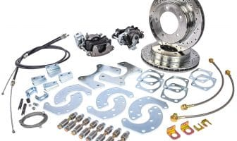 Ford 9-inch Truck Rear Disc Brake Conversion Kit [Premium with parking brake]