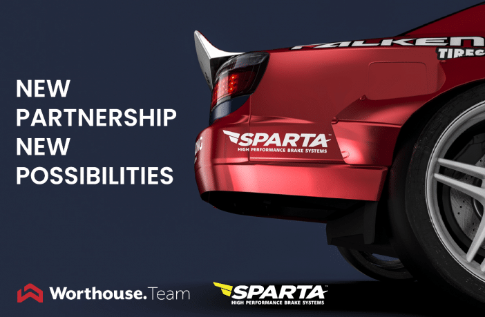 Sparta Evolution and Team Worthouse announced a multi-year partnersihp in Formula Drift