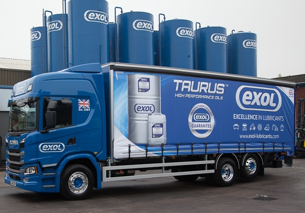 Exol Lubricants delivers to its customers without personal contact