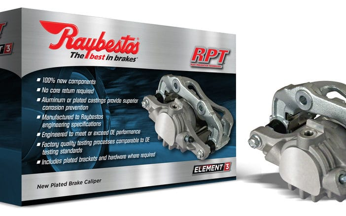 Raybestos has expanded its Element3 line of calipers to cover popular cars and trucks