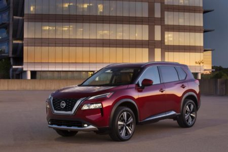 Nissan is recalling 14,054 2021 Rogues to replace a potentially defective rear brake caliper