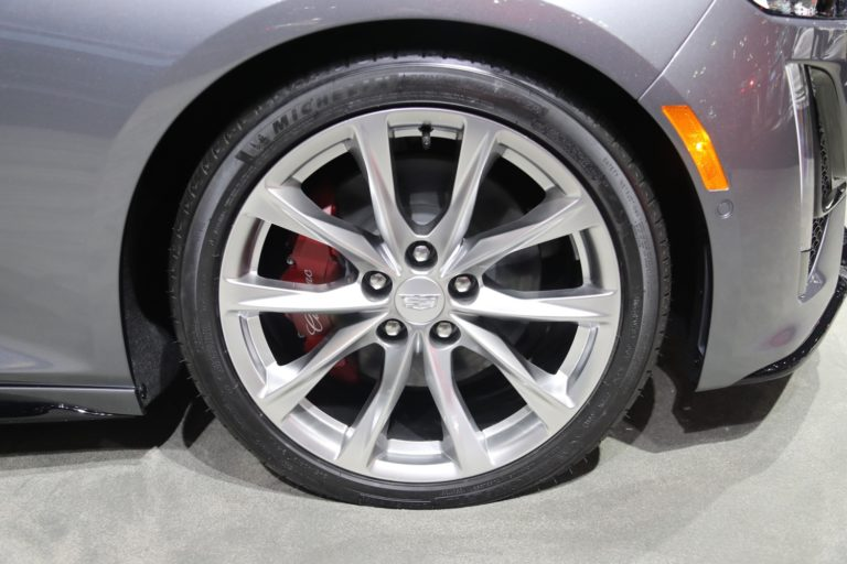 2020 Cadillac CT5 with red brake caliper