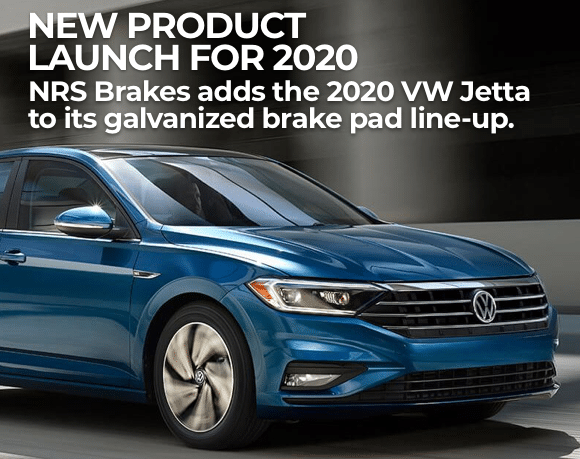 NRS Brakes introduced new produc ts for the 2020 Volkswagen Jetta
