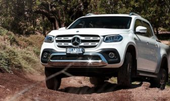 Mercedes-Benz X-Class vehicles have been recalled in Australia due to a brake-system fault