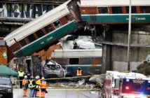 Positive Train Control (PTC), which was implemented ahead of schedule, will help prevent crashes like this 2017 Amtrak derailment in Dupont, Wash.