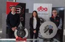 From left: Phillip Joseph (DBA GM Operations), Dr Fiona Martin MP, Brian Johns (DBA Head of Research and Development)