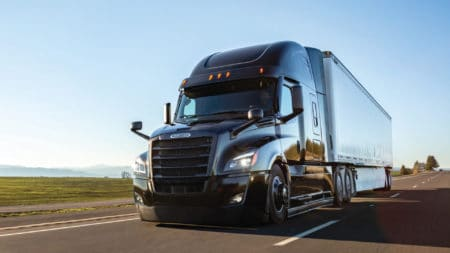 Daimler Trucks is recalling 139 vehicles due to a loose caliiper-mounting bolt