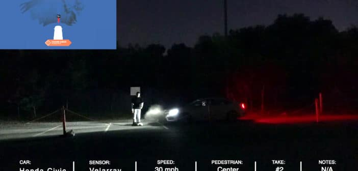 Velodyne Lidar Calls for Action to Improve Pedestrian Safety