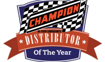 Stirling Lubricants was named Champion Oil distributor of the year