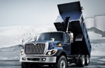 Navistar is recalling about 20,000 work trucks because engine revving during power takeoff can overwhelm the parking brake