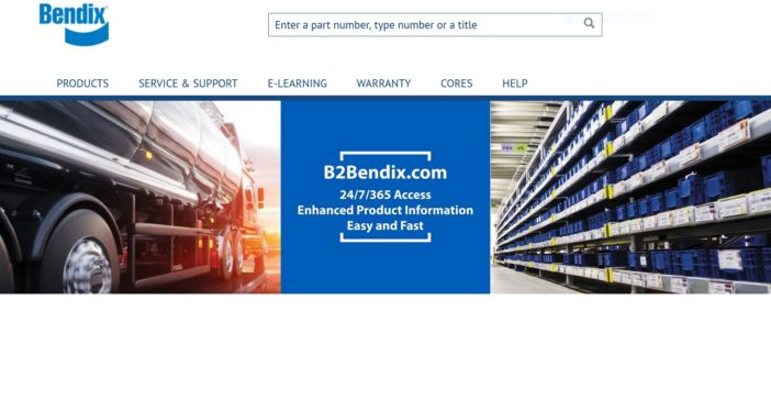 Bendix has launched a new e-commerce Website