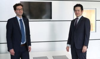 Horiba named Dr. Plank (l) president of Europe operations
