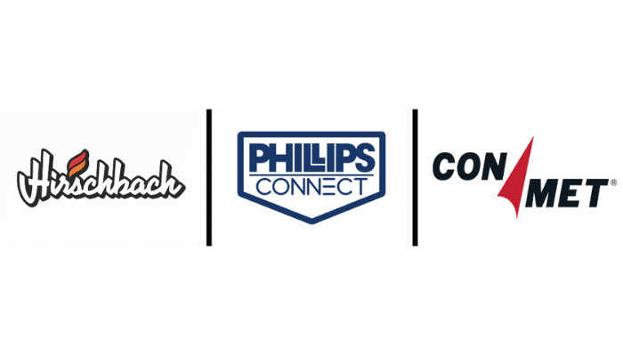 Hirschbach has chosen Phillips Connect and ConMet smart technologies for its trailers