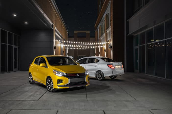 Mitsubishi Adds ADAS to 2021 Mirage, G4 models