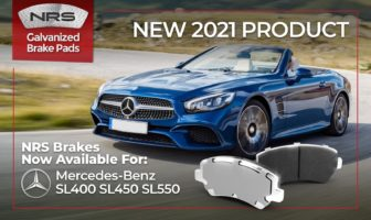 NRS Brakes added galvanized pads for Mercedes-Benz V8s
