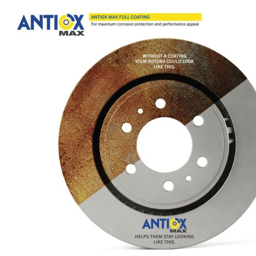 Goodyear Brakes calipers and rotors with their proprietary Antiox Max™ protective coating eliminates corrision on these components