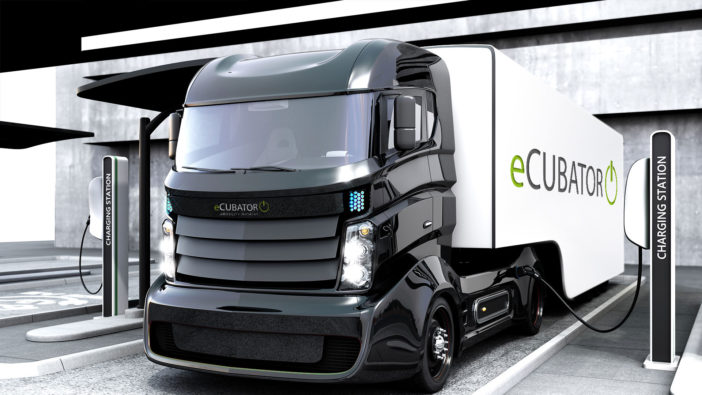Knorr-Bremse has created a new electric-mobility unit eCUBATOR®