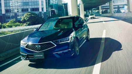The new Honda Legend will feature Honda SEDNSING Elite safety and ADAS features