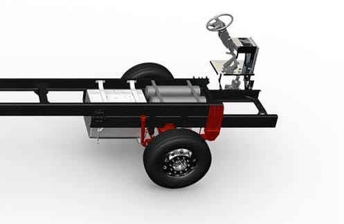 DTNA motorhome chassis are being recalled for missing brake-pedal return spring
