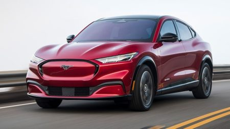 The all-new 2021 Ford Mustang MACH-E electric vehicle offers more than the average SUV